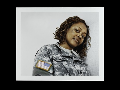 Portrait of Sergeant First Class Deidre Coley, U.S. Army