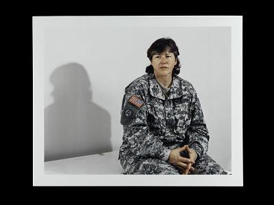 Portrait of Sergeant First Class Kim Dionne, U.S. Army Reserve