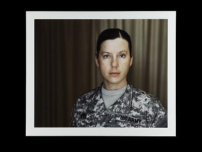 Portrait of Warrant Officer One Chelsea Spier, U.S. Army