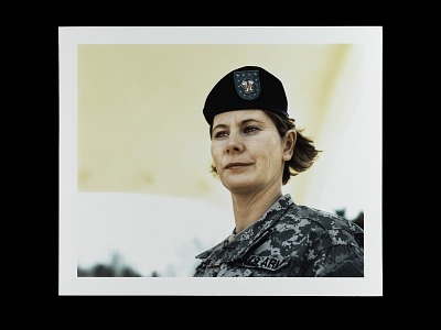 Portrait of Specialist Elizabeth Sartain, U.S. Army