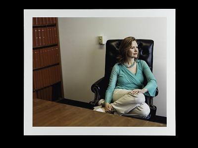Portrait of Major Lori Sweeney, U.S. Army, Retired
