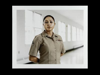 Portrait of Lance Corporal Layla Martinez, U.S. Marine Corps