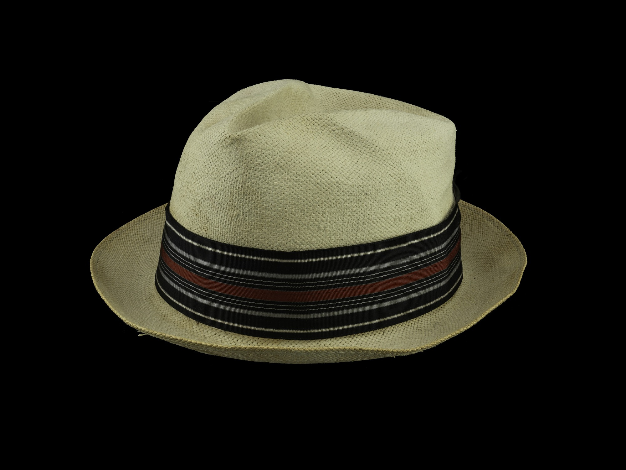 images for Harold Cotton II, Straw Fedora
