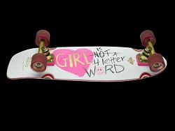 Cindy Whitehead's GN4LW Skateboard - Conversation Kit Resources