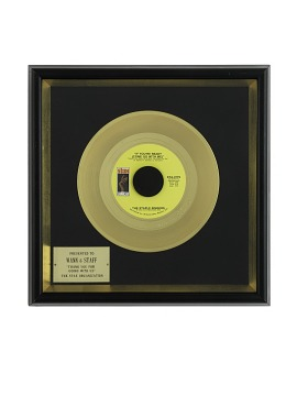 "Gold Record, ""If You're Ready (Come Go With Me)"""