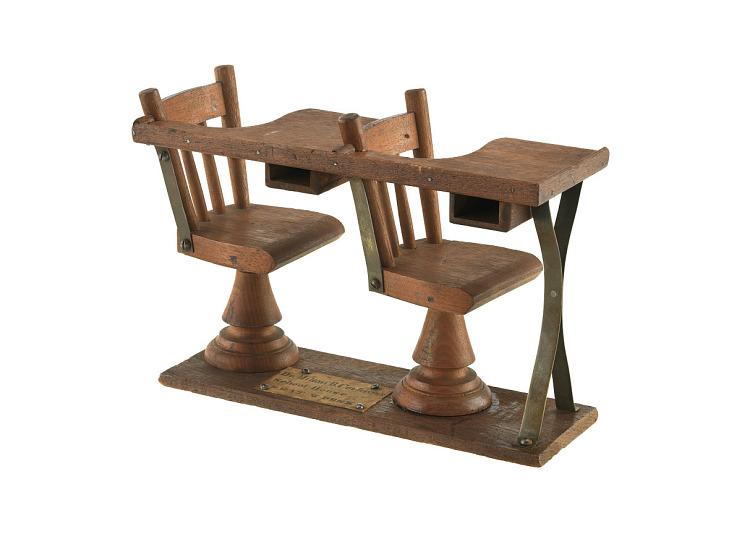 M. B. Cochran's School Desk Patent Model
