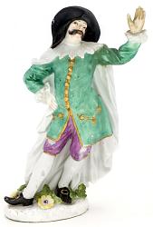 Meissen figure of Dottore