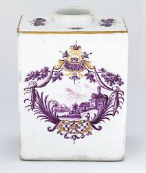 Meissen tea caddy