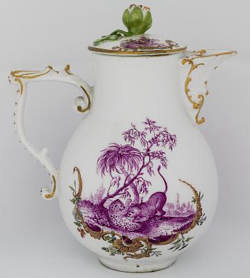 Meissen milk pot