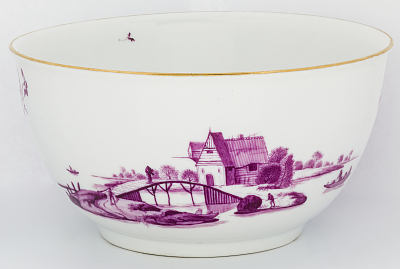 Meissen rinsing bowl (part of a service)