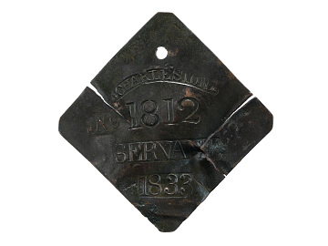 Charleston Slave Badges