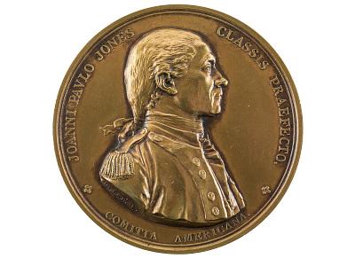 John Paul Jones, Bonhomme Richard vs. Serapis, United States, 1779 (U.S. Mint copy die)