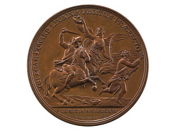 John Eager Howard at the Cowpens, United States, 1781/1881 (U.S. Mint copy dies)