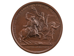 John Eager Howard at the Cowpens, United States, 1781 (U.S. Mint copy dies)