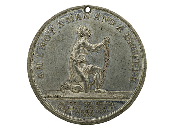 Anti-slavery Medal, Great Britain, 1834