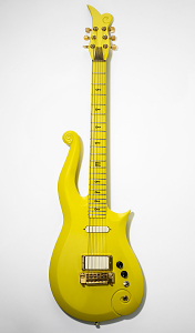 images for Prince's Yellow Cloud Electric Guitar-thumbnail 1