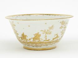 Meissen Böttger porcelain rinsing bowl (Hausmaler)