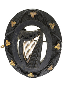 images for Irish Brooch, 1800s-thumbnail 2