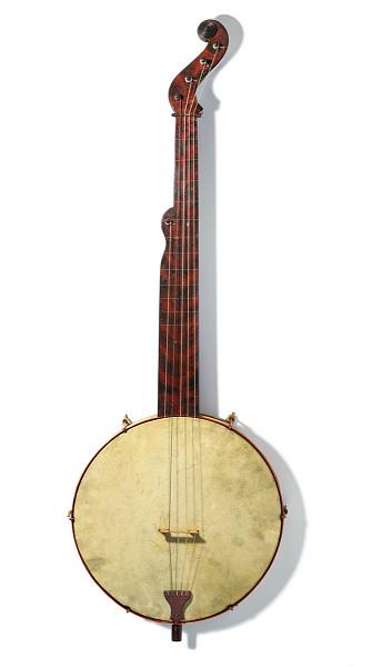 Image 1 for Boucher Five-String Fretless Banjo