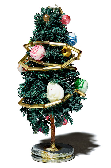 images for miniature christmas tree fishbowl decoration from the west