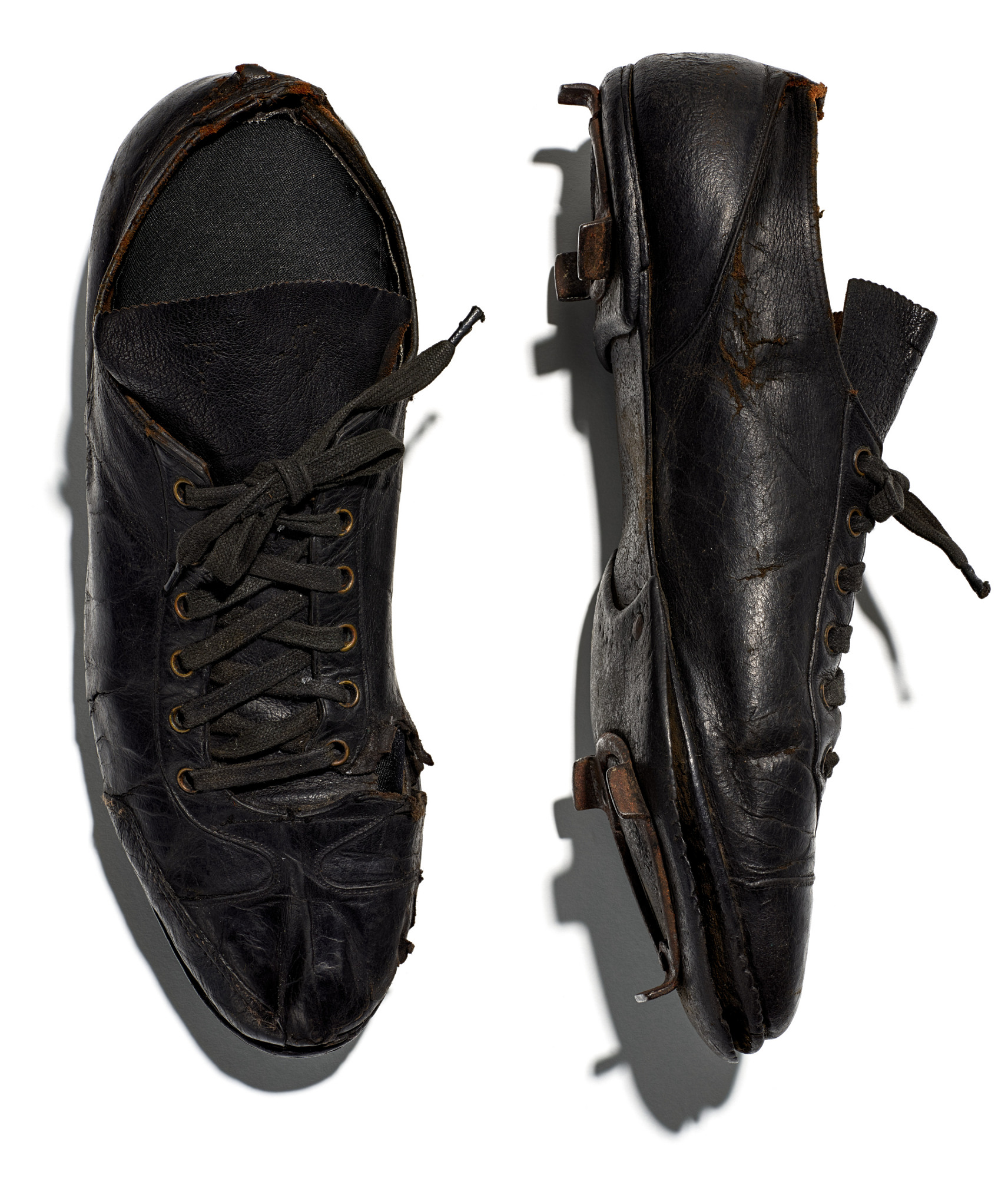 images for Baseball shoes worn by Jimmie Crutchfield of the Pittsburgh Crawfords