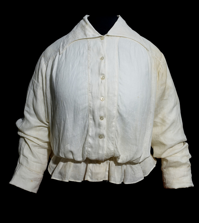 Shirtwaist similar to those made at the Triangle Shirtwaist Company factory