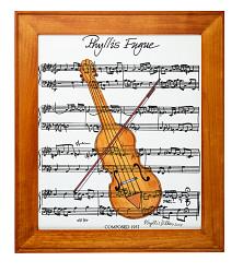 """Phyllis Fugue"" Painting"