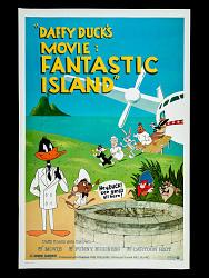 Daffy Duck's Movie: Fantastic Island Movie Poster