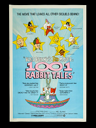 Bugs Bunny's 3rd Movie: 1001 Rabbit Tales Movie Poster