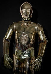 C-3PO, from Return of the Jedi