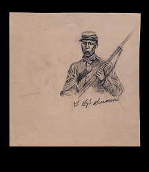 """1st Sgt. Simmons"" sketch in The True Story of Glory Continues"