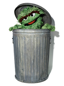 images for Oscar the Grouch Puppet-thumbnail 1