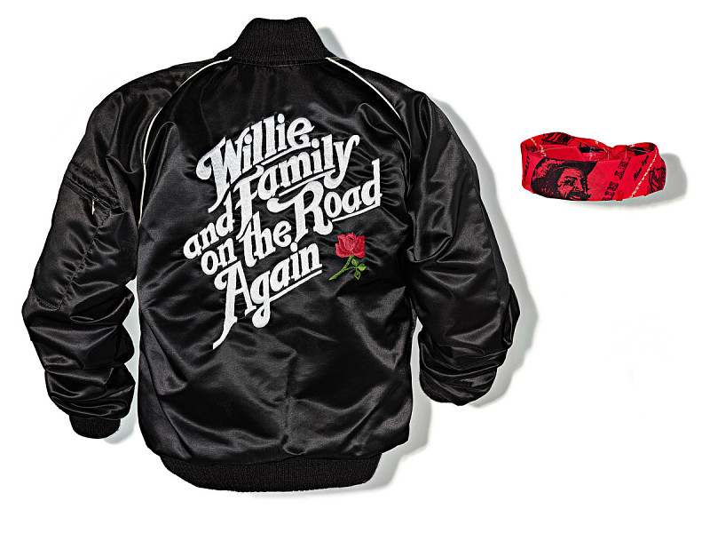 Image 1 for Tour Jacket worn by Willie Nelson