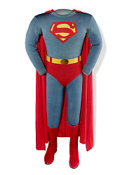 """Superman Costume, worn by George Reeves on """"The Adventures of Superman"""""""