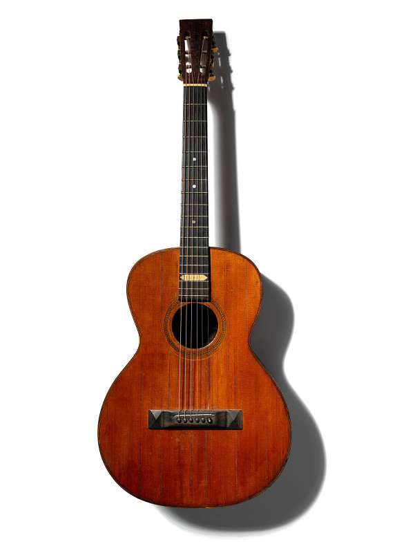 Image 1 for Emory Guitar played by Mississippi John Hurt at the 1963 Newport Folk Festival