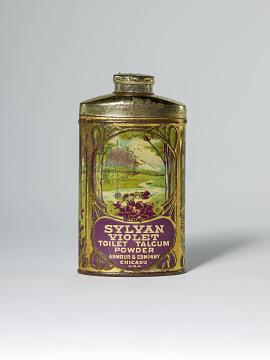 Sylvan Violet Toilet Talcum Powder