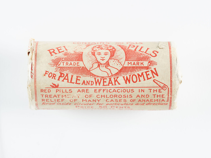 Red Pills for Pale and Weak Women