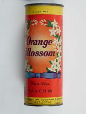 Orange Blossom Talcum Powder