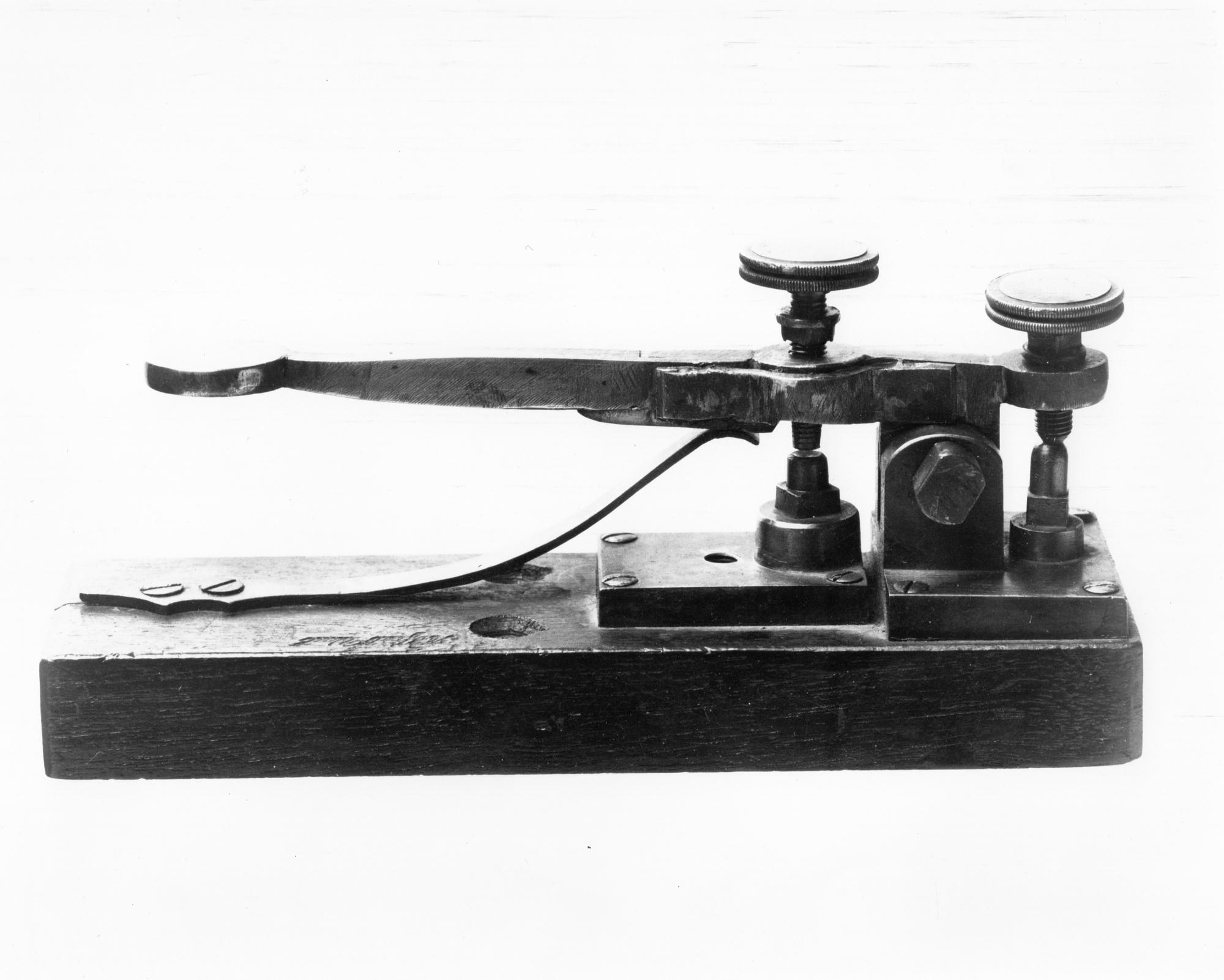 Morse-Vail Telegraph Key