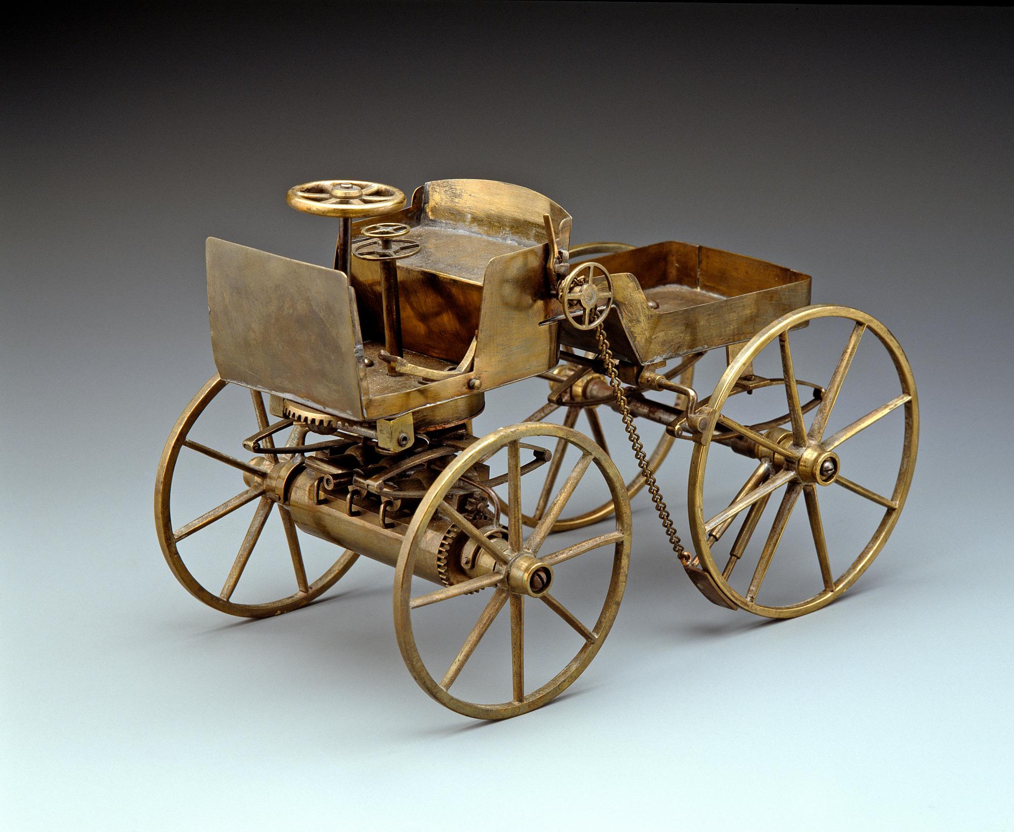 George Selden's automobile patent model, 1879