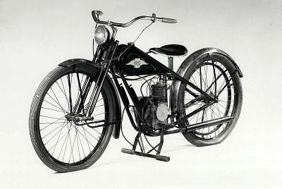 Simplex Servi-Cycle Motorbike, 1935