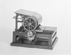 Patent Model for Flatbed Cylinder Printing Presses