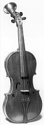 """Horn Violin"" Patent Model"