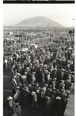 Braceros Waiting at Processing Center