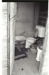 Toilet Facilities at Bracero Camp