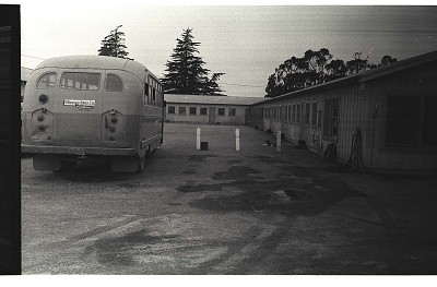 Buses at Bracero Camp