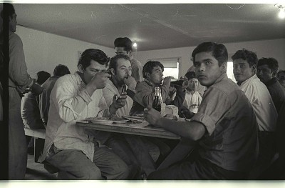 Braceros at Meal Time