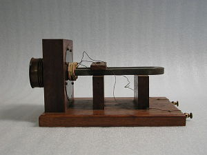 images for Alexander Graham Bell's Large Box Telephone-thumbnail 1