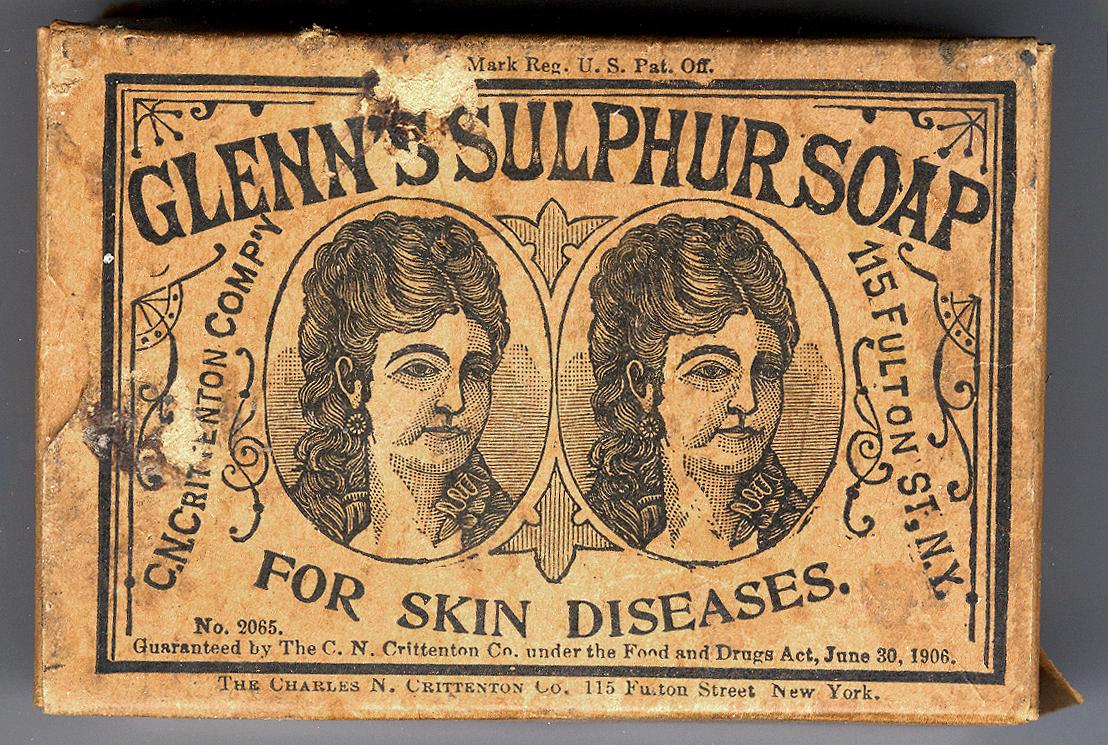Resources :: Glenn's Sulphur Soap for Skin Diseases