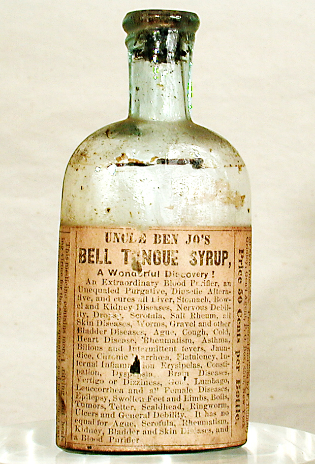 Image result for Uncle Ben Jo's Bell Tongue Syrup